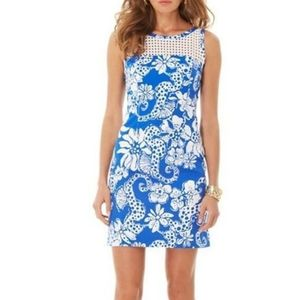 Lilly Pulitzer | Marianne Dress Seahorse Print 0